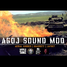 AGQJ Sound Mod для World of Tanks 0.9.17.0.3